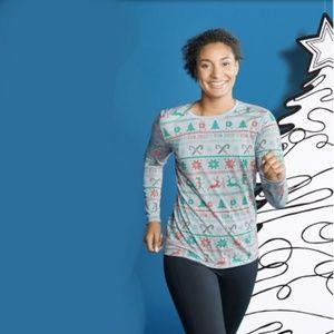 Brooks- Equilibrium 'run jolly' long sleeve shirt